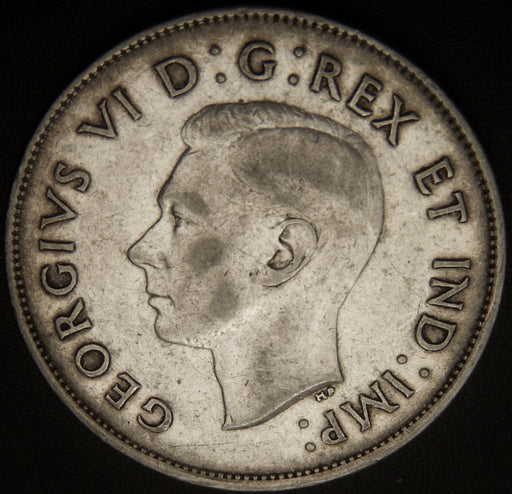 1942 Canadian Half Dollar - VF
