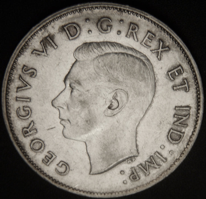 1943 Canadian Half Dollar - VF