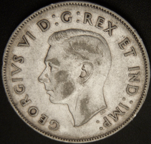 1944 Canadian Half Dollar - VF