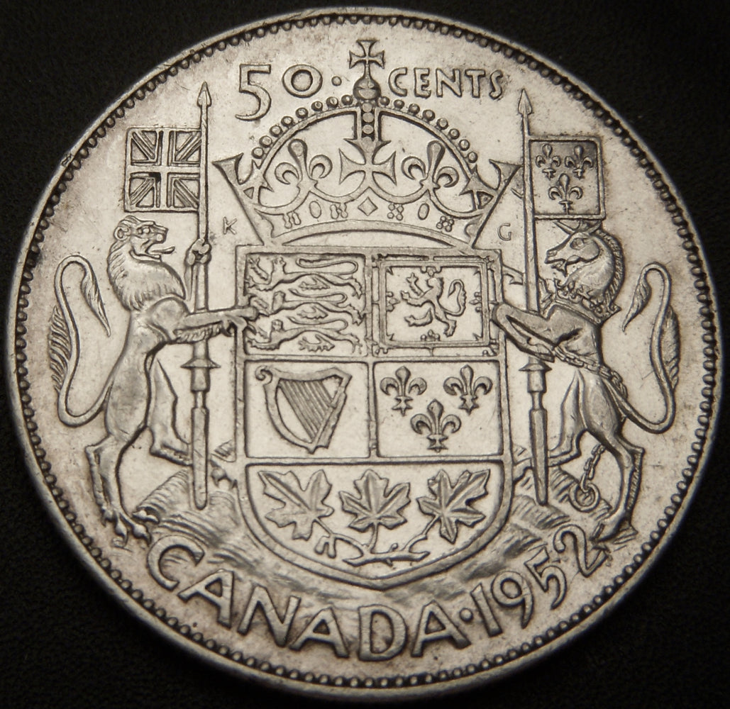 1952 Canadian Half Dollar