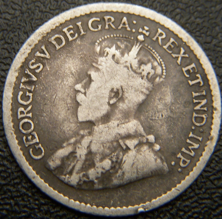 1914 Canadian Silver Five Cent - VG