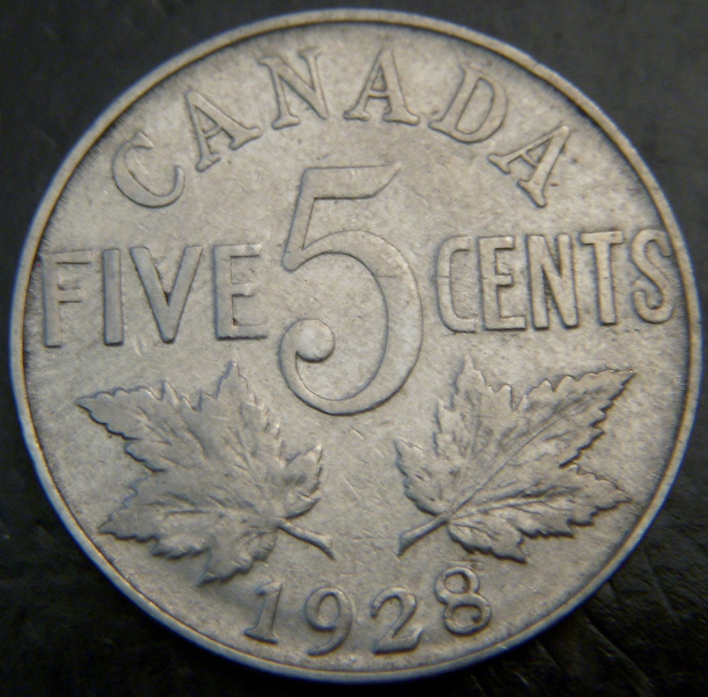 1928 Canadian 5C - VG/Fine