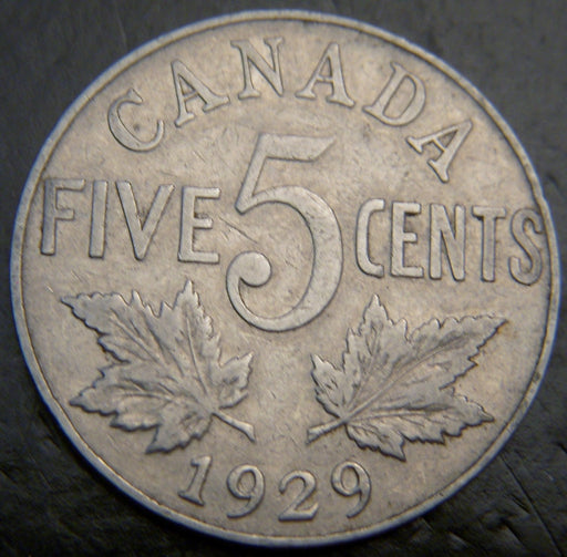 1929 Canadian 5C - VG/Fine