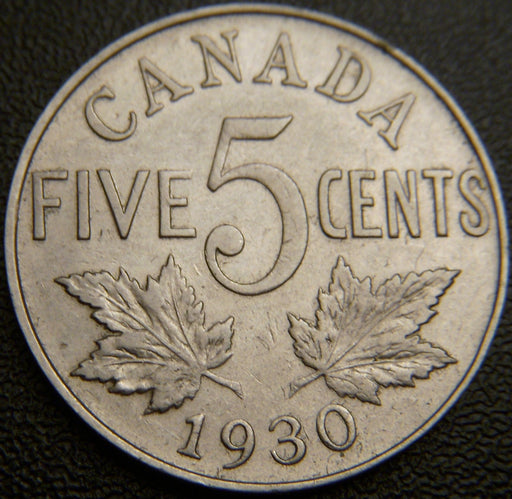 1930 Canadian Five Cent - EF