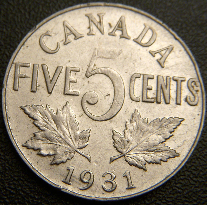 1931 Canadian Five Cent - EF