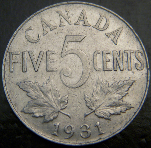 1931 Canadian 5C - VG/Fine
