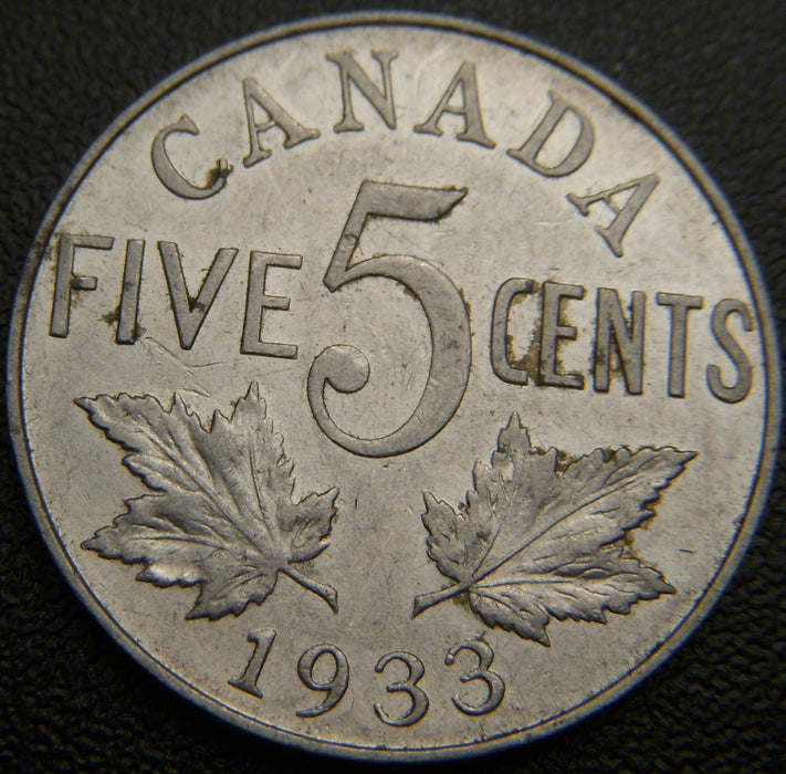 1933 Canadian 5C - VG/Fine