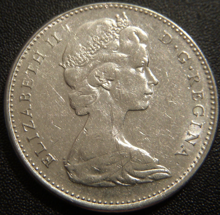 1970 Canadian Five Cent - Very Fine or Better