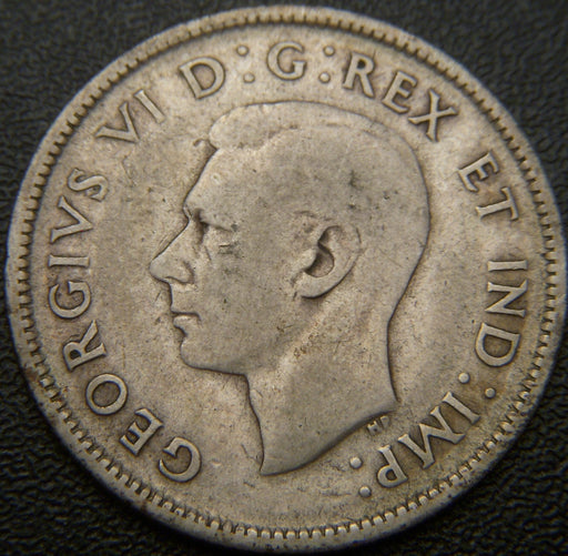 1937 Canadian 25C - VG to VF