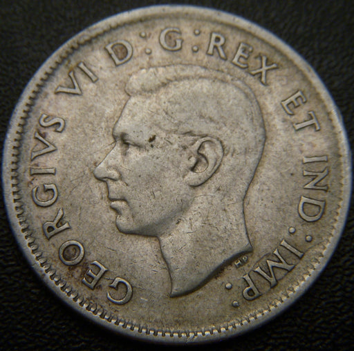 1938 Canadian 25C - VG to VF