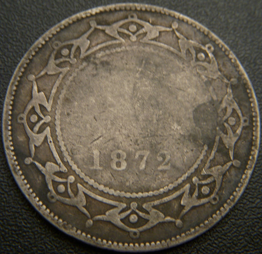 1872H New Foundland 50 Cent  G