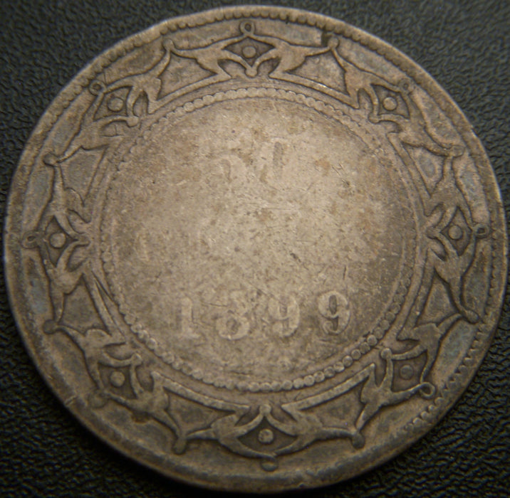 1899 New Foundland 50C - Good