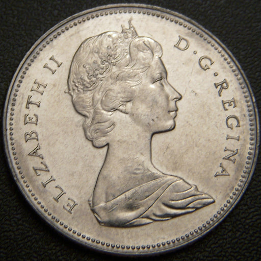 1970 Canadian Half Dollar - VF to AU