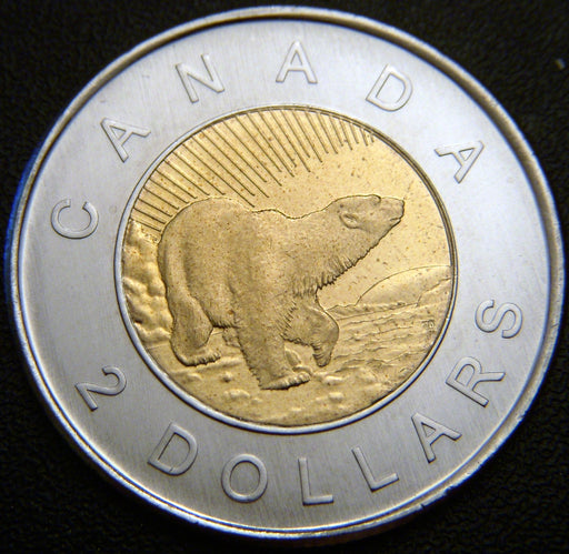2006L Canadian $2 10th - Unc.