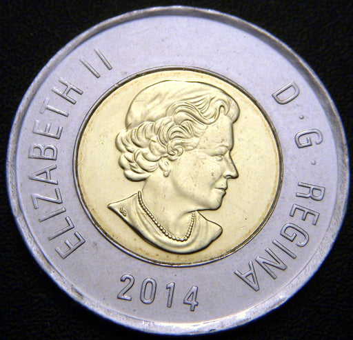 2014 Canadian Two Dollar - Unc