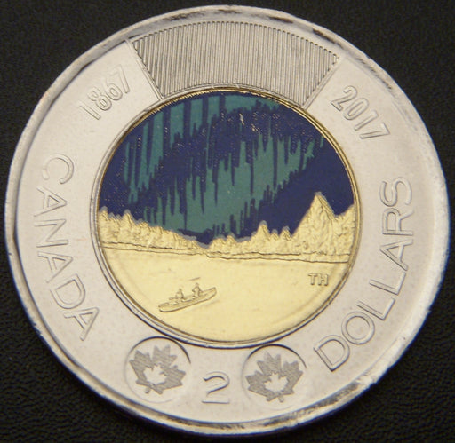 2017 Canadian $2 Color - Unc.