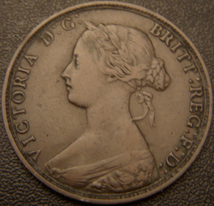 1864 1 Cent - New Brunswick
