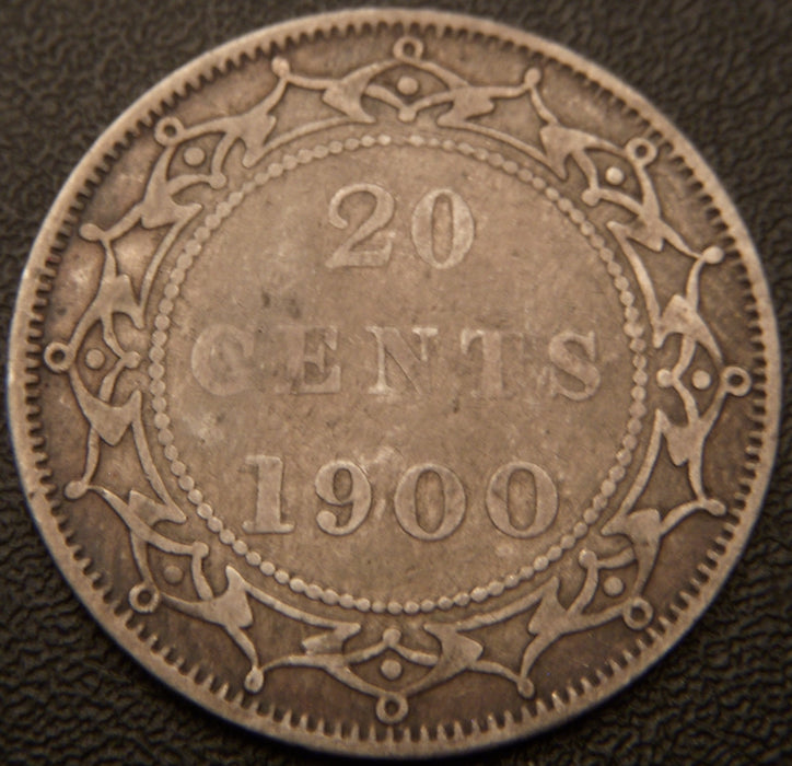 1900 20 Cents - New Foundland