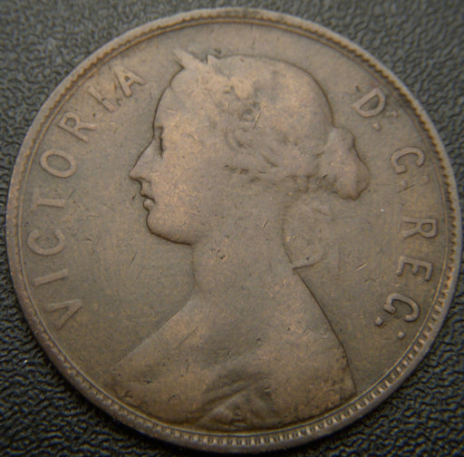 1880 New Foundland Cent - Evan 0  VG