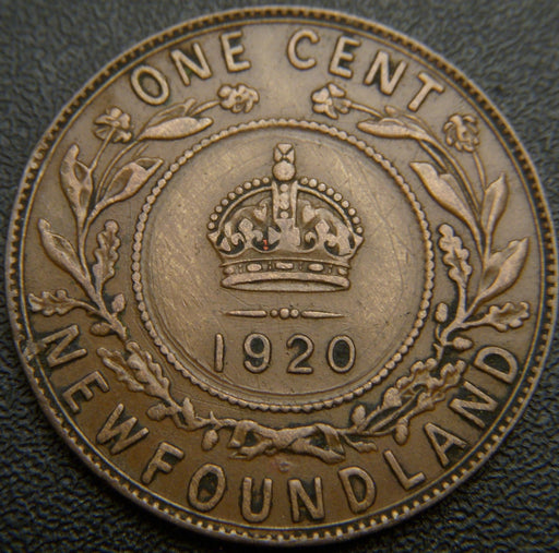 1920C New Foundland One Cent - EF