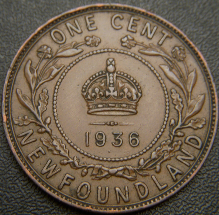 1936 Cent New Foundland - EF