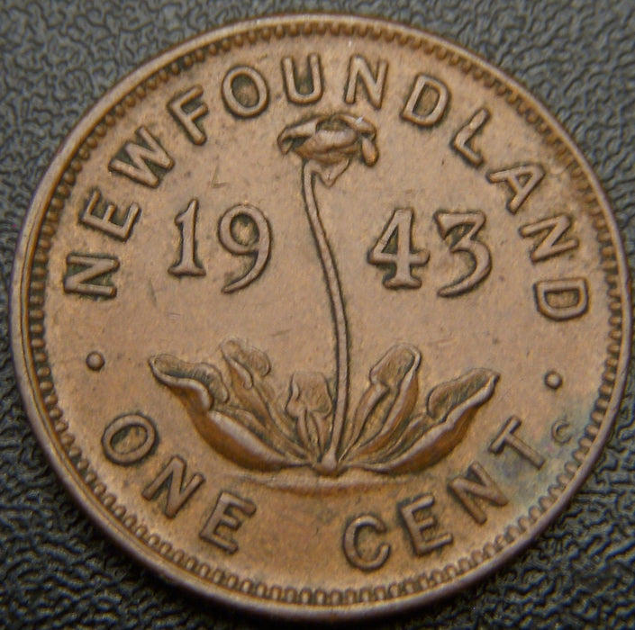1943C Cent New Foundland - EF