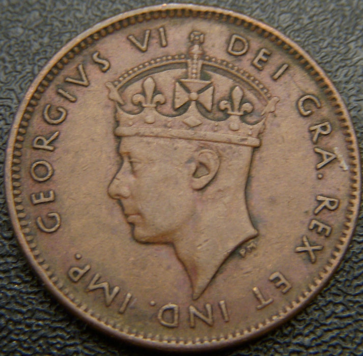 1947C Cent New Foundland - VF