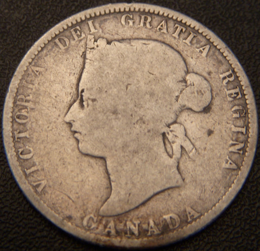 1881H Canadian Quarter - Good