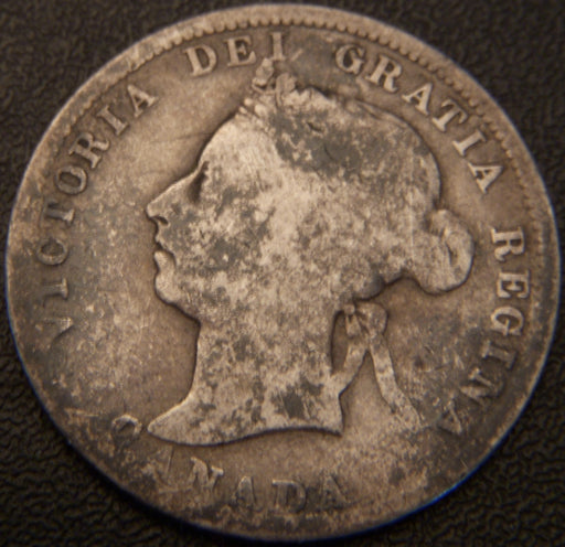 1901 Canadian Quarter - VG