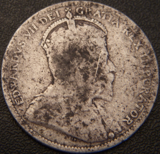 1910 Canadian Quarter