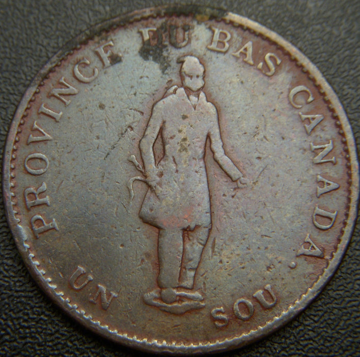 1837 Half Penny Quebec Bank Token