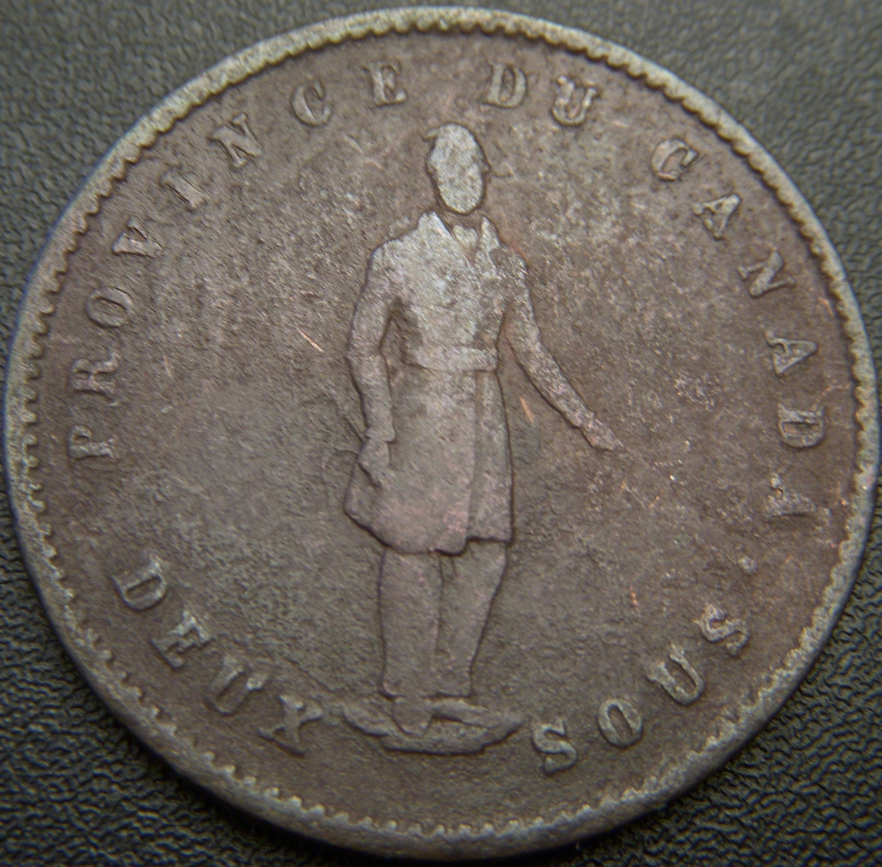 1852 One Penny Quebec Bank Token