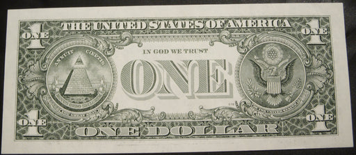 1995 (D) $1 Federal Reserve Note - Uncirculated