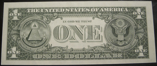 1995 (F) $1 Federal Reserve Note - Uncirculated