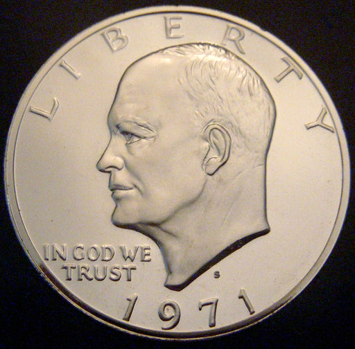 1971-S Eisenhower Dollar - Silver Proof