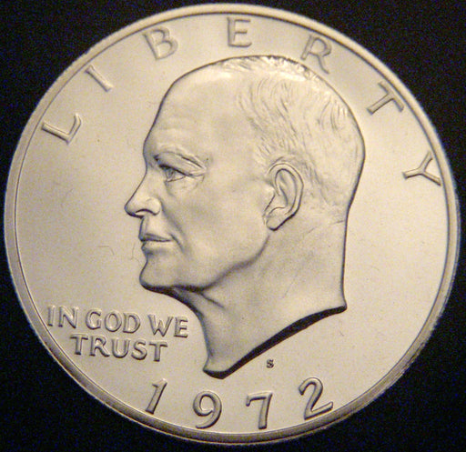 1972-S Eisenhower Dollar - Silver Proof