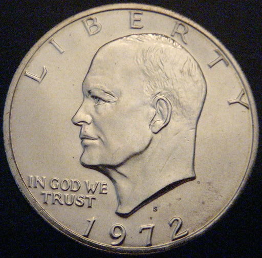 1972-S Eisenhower Dollar - Silver Uncirculated