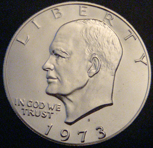 1973-S Eisenhower Dollar - Silver Proof