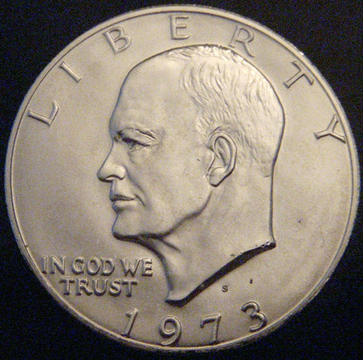 1973-S Eisenhower Dollar - Silver Uncirculated