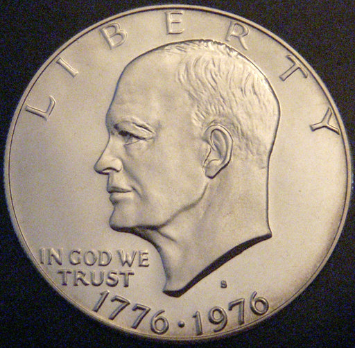 1976-S Eisenhower Dollar - T1 Bold Clad Proof