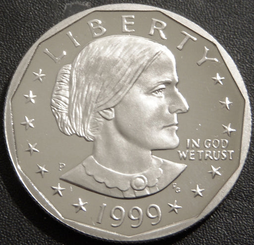 1999-P Susan B. Anthony Dollar - Proof
