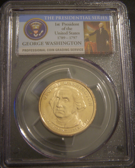 2007 G. Washington Dollar - Missing Edge Lettering PCGS MS65