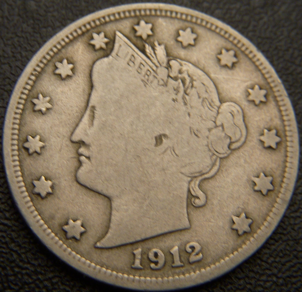 1912-D Liberty Nickel - Fine