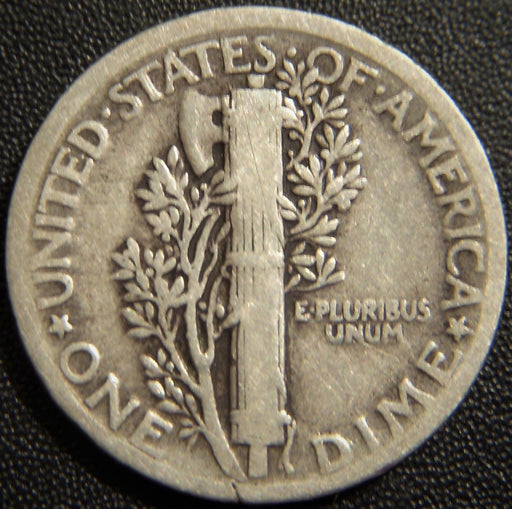1921 Mercury Dime - Very Good