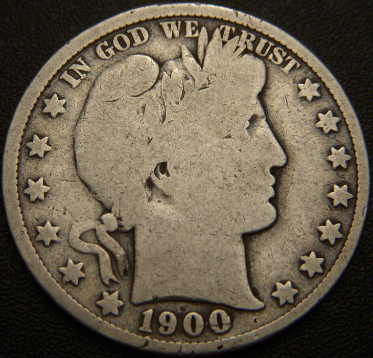1900 Barber Half Dollar - Good