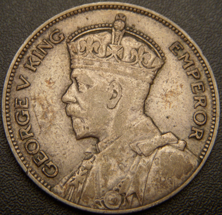 1934 Half Crown - New Zealand