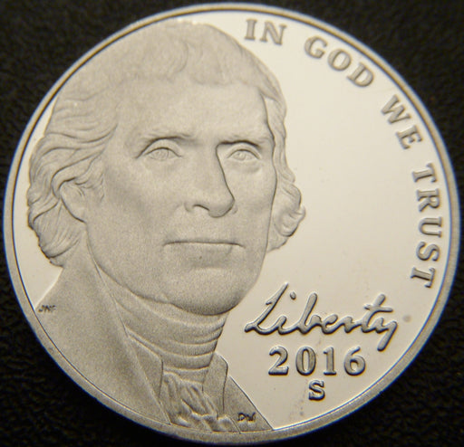 2016-S Jefferson Nickel - Proof
