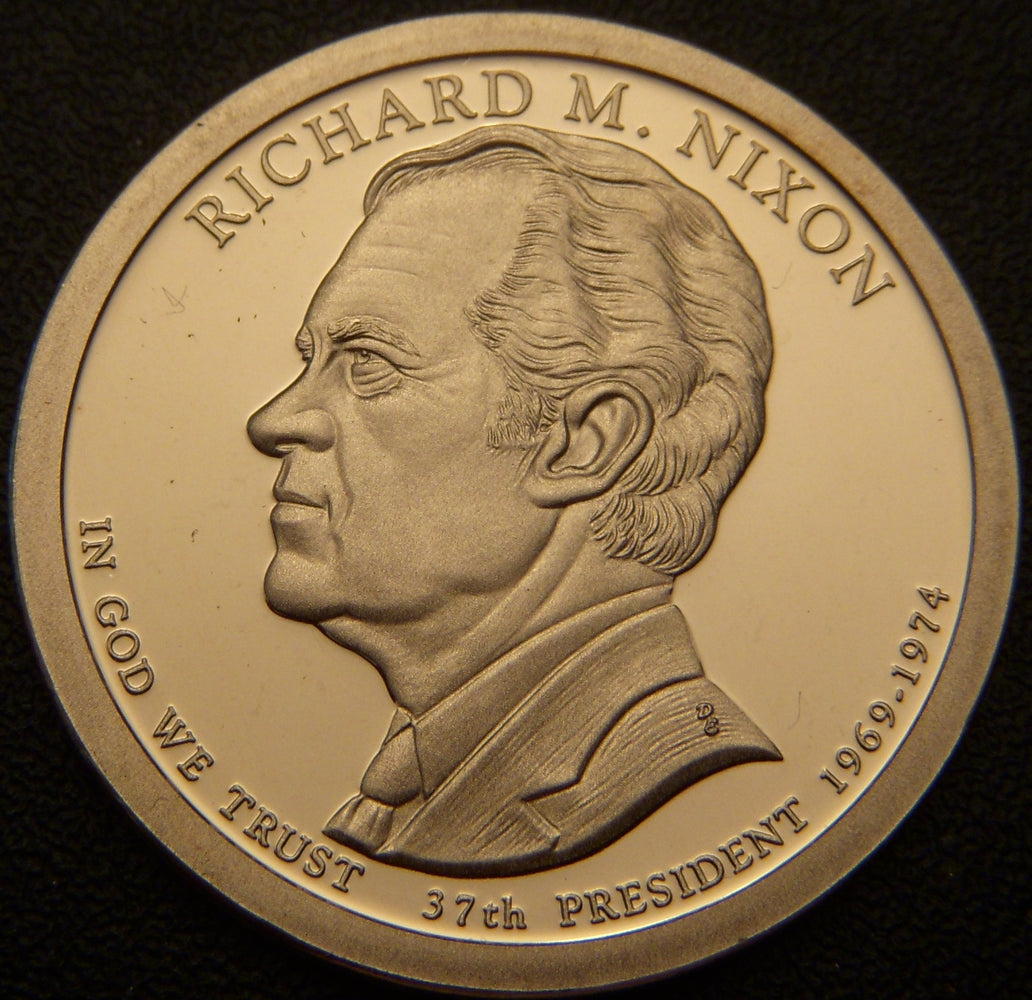 2016-S R. Nixion Dollar - Proof