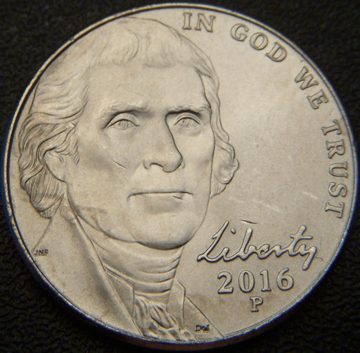2016-P Jefferson Nickel - Unc.