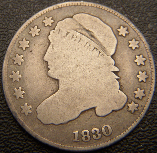 1830 Bust Dime - Very Good